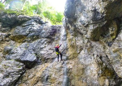 Canyoning Tour Abseilen