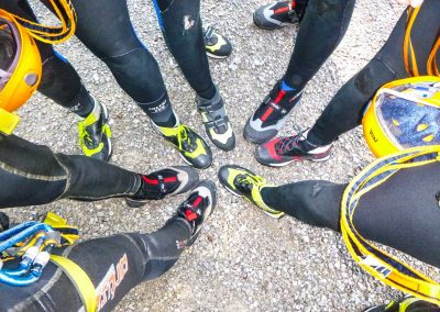 Canyoning Tour Gruppe